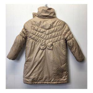 Rothschild | Long Puffer Coat w Bow Detail on Back